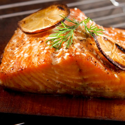 Whiskey-Marinated Salmon
