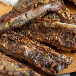 White Barbecue Sauce Pork Ribs