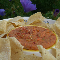 White Bean and Roasted Red Pepper Dip
