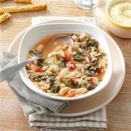White Bean Soup with Escarole