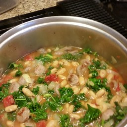 White Bean Soup With Sausage And Kale