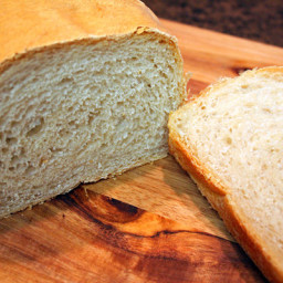 White Bread Recipe Using Simple Straight Dough