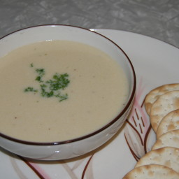 White Cheddar Beer Cheese Soup