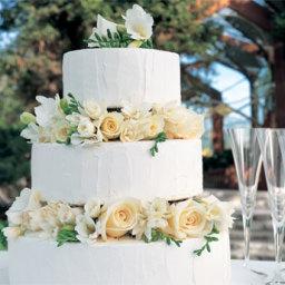 White Chocolate and Lemon Wedding Cake