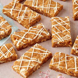 White Chocolate-Butterscotch Bars