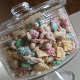 White Chocolate Chex Mix