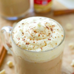 White Chocolate Pumpkin Spice Mocha