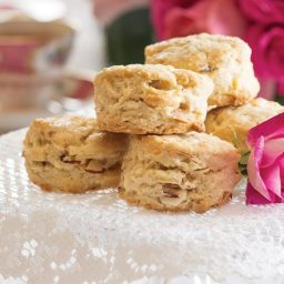 White Chocolate–Almond Scones