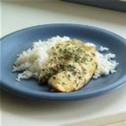 White Fish with Lemon and Garlic