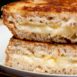 White Pizza Toasted Sandwiches