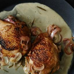 White Wine and #8211;Braised Chicken