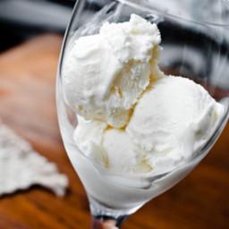 White Wine Frozen Yogurt Recipe