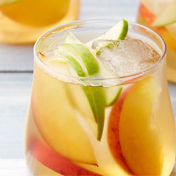 White Wine & Peach Sangria