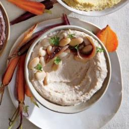 White Bean Hummus with Anchovies and Parsley