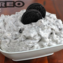 White Chocolate OREO Fluff Dessert