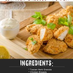 Whole 30 Best Of The Mediterranean Airfryer Breaded Chicken