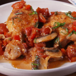 Whole 30 Chicken Cacciatore
