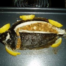 Whole Flounder with Herb Marinade