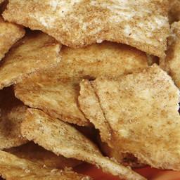 Whole-Grain Cinnamon Pita Chips