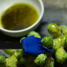 Whole Roasted Brussel Sprouts