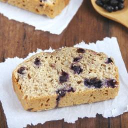 Whole Wheat Blueberry Banana Bread