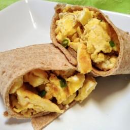 Whole Wheat Breakfast Burrito Recipe