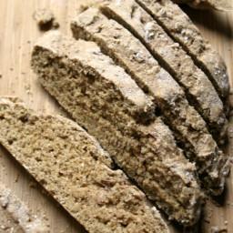 Whole Wheat Soda Bread {no-knead, no-yeast}