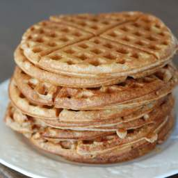 Whole-Wheat Waffles