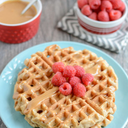 Whole Wheat Yogurt Waffles {Freezer-Friendly}