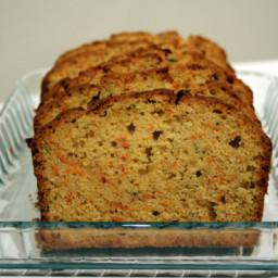 Whole Wheat Zucchini or Carrot Bread