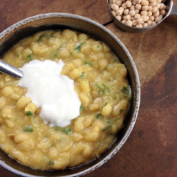 Whole Yellow Peas Curry