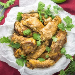 Whole30 Slow Cooker Thai Chicken Wings