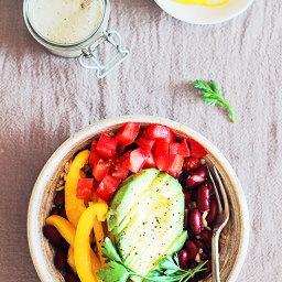 Wholesome Vegan Veggie Burrito Bowl