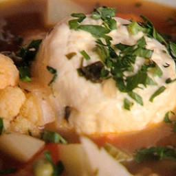 Widow's soup (soppa tal-armla)