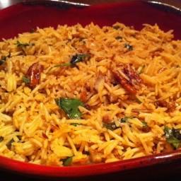 Wild Basmati Rice with Orange-Soy