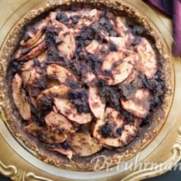 Wild Blueberry Apple Pie