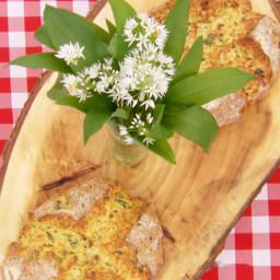 Wild Garlic Pesto Bread