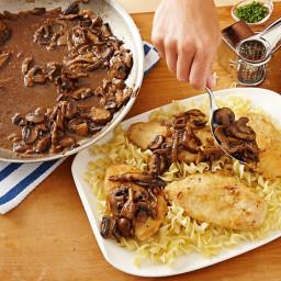 Wild Mushroom Chicken Marsala