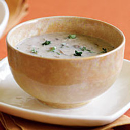 Wild Mushroom Soup with Sherry and Thyme