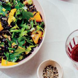 Wild Rice and Golden Beet Salad