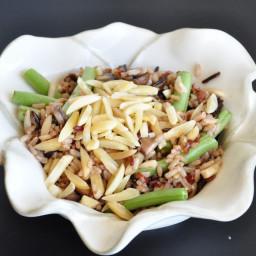Wild Rice and Mushroom Salad