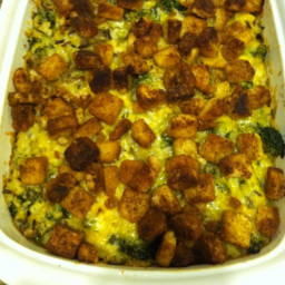 Wild Rice Broccoli Bake