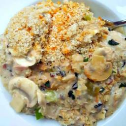 Wild Rice Tuna Casserole