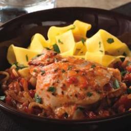 Wine and Tomato Braised Chicken