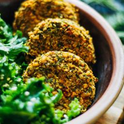 Winter Kale Falafel