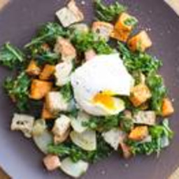 Winter Panzanella Breakfast Salad