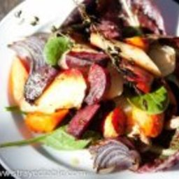 Winter Roast Vegetable Salad