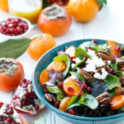 Winter Salad with Citrus Vinaigrette
