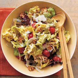 Winter Salad with Roasted Cherry Tomatoes