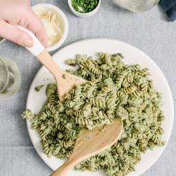 Winter Spinach and Ricotta Pesto
